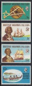 Solomon Islands Scott #228-231 MNH