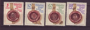 J24514 JLstamps 1984 germany DDR set mnh #2422-5 historic seals