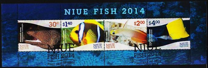 Niue. 2014 Miniature Sheet.  Fine Used