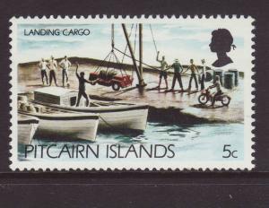 1977 Pitcairn Is 5c Landing Cargo U/M