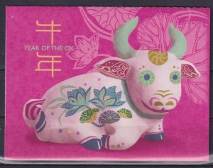 Singapore 2021 Chinese New Year - Year of the Ox  (MNH)  - New Year