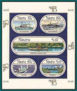 Nauru 1999 Ships, MS MNH 464,SGMS496