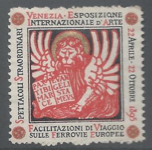Italy, Sicily, 1895, Venice International Art Exposition, V.F.