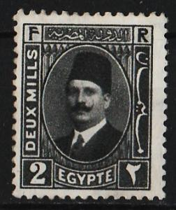 Egypt 1927/1937 King Fuad (2nd Series) 2M (1/22) USED