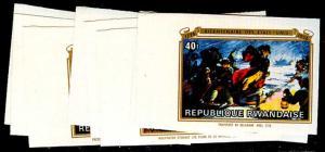 RWANDA 722-29(var)  Mint (ID # 55034)