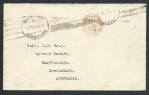 ARGENTINA 1938 cover to Australia - 20c Meter - Permiso 76.................59202
