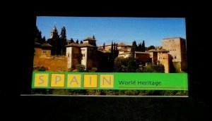 U.N. NEW YORK #786, 2000, WORLD HERITAGE, SPAIN,  MNH, PRESTIGE BOOKLET, LQQK!