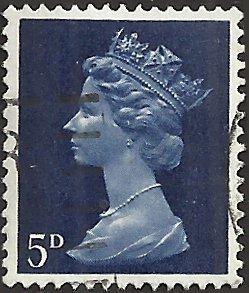 GREAT BRITAIN - MH8 - Used - SCV-0.25