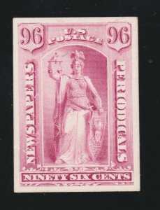 US PR23P4 Newspaper Periodical Proof on Card VF-XF NH SCV $12