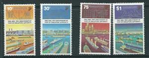 SINGAPORE SG588/91 1989 PORT AUTHORITY   MNH
