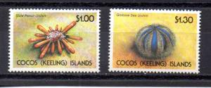 Cocos Islands 239-240 MNH