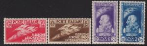 Italy 345 - 348 set VF-LH scott cv $ 186 ! see pic !