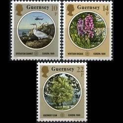 Guernsey MNH 331-3 Europa Flora & Fauna 1986