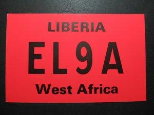 5670 Amateur Radio QSL Card Monrovia Liberia West Africa