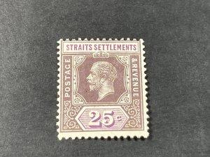 STRAITS SETTLEMENTS # 194a--MINT NEVER/HINGED----SINGLE----1921-32(LOTB)