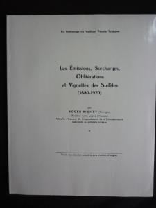 EMISSIONS SURCHARGES OBLITERATIONS & VIGNETTES DES SUDETES - PHOTOCOPY by RICHET