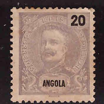 Angola  Scott 43 MH* stamp