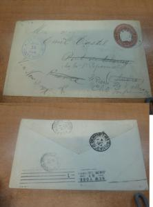 Costa Rica PSE 1894 10c from Limon to USA