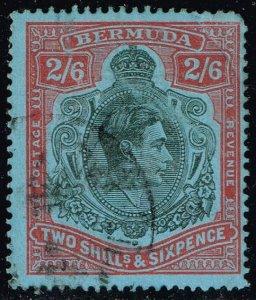 Bermuda #124a King George VI; Used (1Stars)