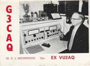 7275 Amateur Radio QSL Card  NEAR WOLVERHAMPON ENGLAND