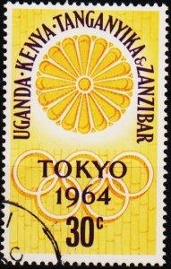 K.U.T. 1964 30c S.G.207 Fine Used