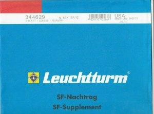 Lighthouse Leuchtturm Supplement N53K SF/12 USA Miniature Sheets