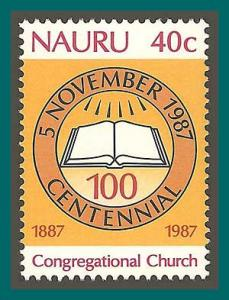 Nauru 1987 Congregational Church, MNH 340,SG355
