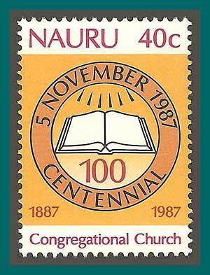 Nauru 1987 Congregational Church, MNH 340,SG355