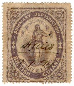 (I.B) British Guiana Revenue : Summary Jurisdiction 96c (1865)
