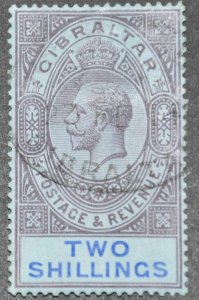 DYNAMITE Stamps: Gibraltar Scott #72 – USED