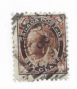 Canada #71 Used - Stamp - CAT VALUE $20.00