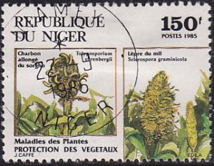 Niger 694 Environmentally Damaging Species 1985