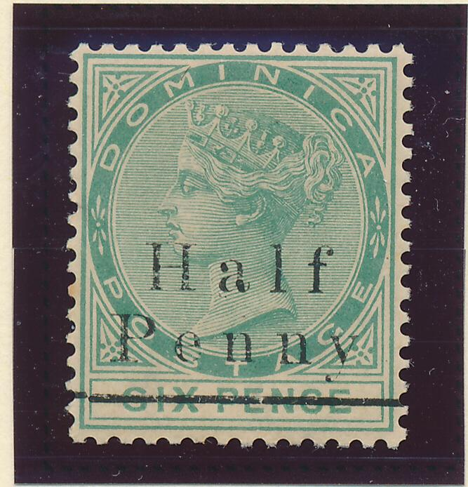 Dominica Stamp Scott #13, Mint Never Hinged MNH - Free U.S. Shipping, Free Wo...