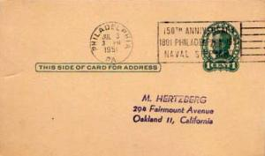 United States, Government Postal Card, Pennsylvania