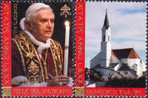 Vatican #1347-1349 Used Set