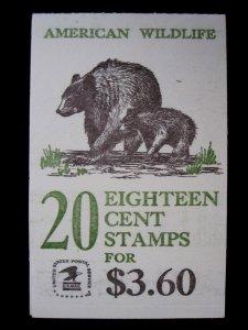 US - SCOTT# BK137 - BOOKLET OF 20 - MNH - CAT VAL $10.00 (1)