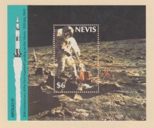 Nevis Scott #590 Stamps - Mint NH Souvenir Sheet