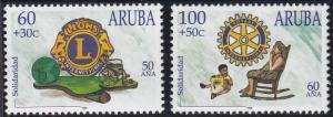 Aruba B51-B52 MNH (1998)