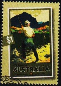 Australia. 2007 $1 Fine Used