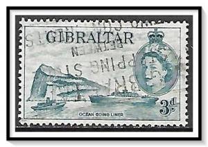 Gibraltar #137 Ocean Liner Used