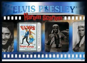 [76317] Dominica 2010 Music Elvis Presley Movie Harum Scarum Sheet MNH