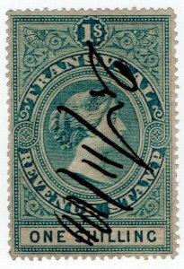 (I.B) Transvaal Revenue : Duty Stamp 1/-