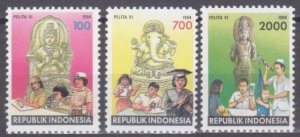 1994 Indonesia 1503-1505 Education and culture 3,20 €