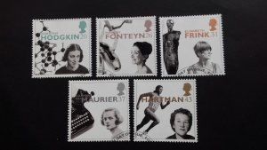 Great Britain 1996 EUROPA Stamps - The Achievements of Women of the 20th Century