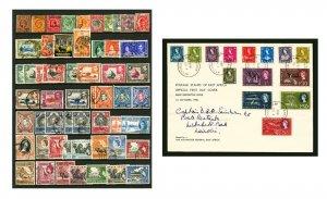K.U.T. & East Africa #31 / #133 1908-1960 Kings Ed VII, Geo V & VI, Queen Eliza