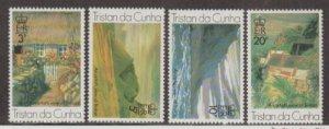 Tristan da Cunha Scott #209-212 Stamps - Mint NH Set