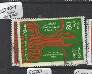 KUWAIT  (PP0705B)  TELECOMS  SG 740-1   VFU