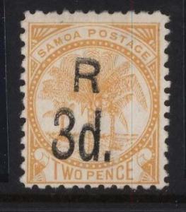 Samoa #25b Mint