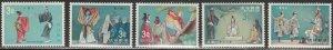 Ryukyu Islands #195-199 Mint Hinged Full Set of 5