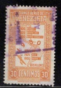Venezuela  Scott C306 Used  stamp